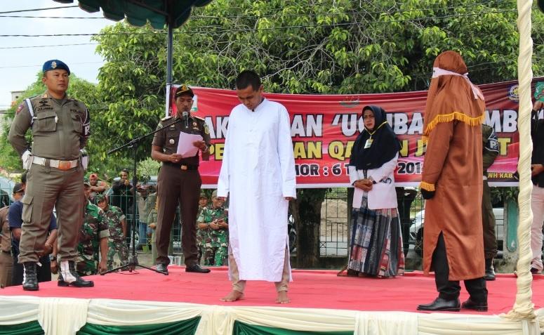 3 Terdakwa Perkara Jinayat MS Idi Dieksekusi Cambuk 100 - 105 Kali | (6/12)