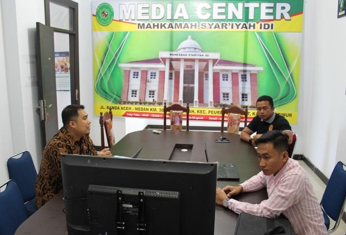 MS Idi Terima Kunjungan Studi Dari MS Langsa | (5/3)